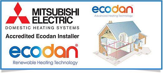 mitsubishi ecodan installatör