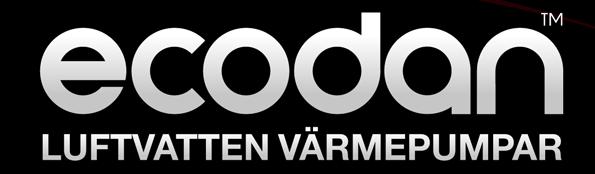 ecodan luftvatten värmepumpar
