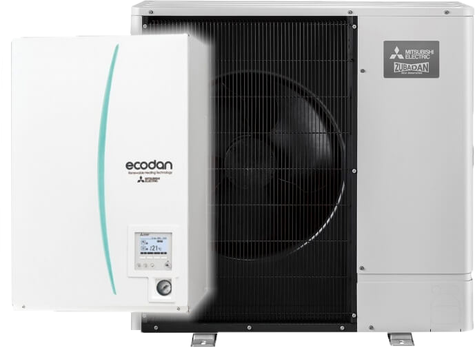 Mitsubishi Electric Nya Ecodan Split-Hydrobox SW100YAA